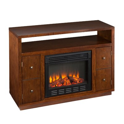 delaney 48 tv stand with fireplace  74775