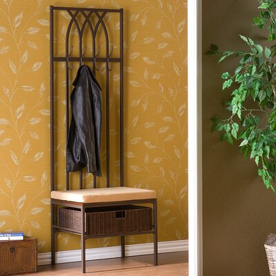 Wildon Home ® Goldwood Entryway Hall Tree