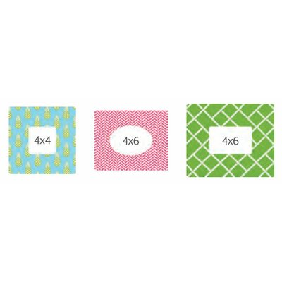 BUTCH & harold Uptown Sticker (Frame) (Set of 3)