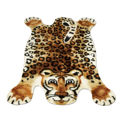 Walk On Me Leopard Kids Rug