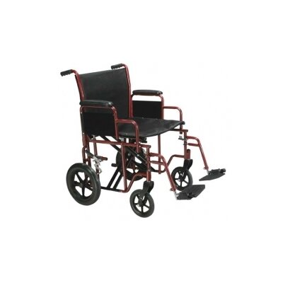 Drive Medical Steel Transport Bariatric Wheelchair