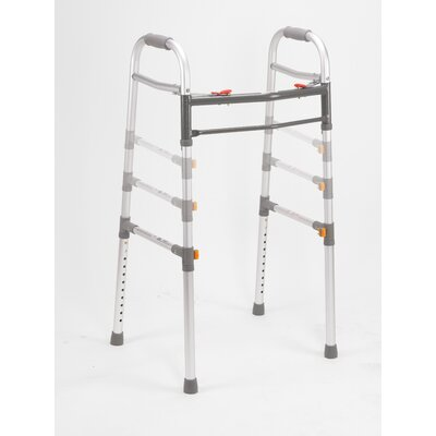 "Drive Medical 28"" Two Button Folding Universal Walker"