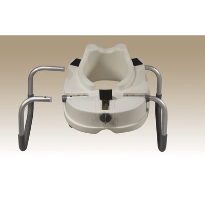 Drive Medical Raised Toilet Seat With Removable Padded
