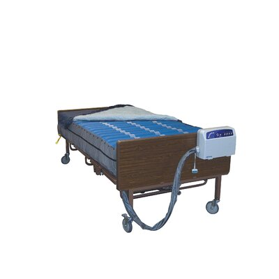 Drive Medical Med Aire Bariatric Low Air Loss Mattress Replacement System in Blue