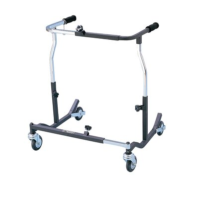 Drive Medical Bariatric Heavy Duty Anterior Safety Roller in Black