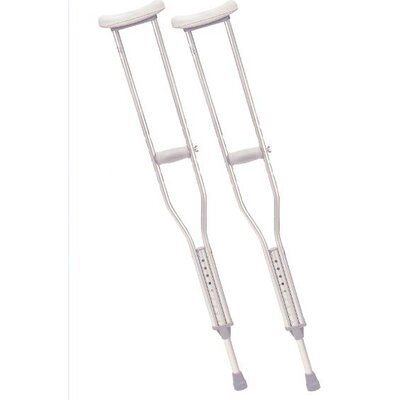 Drive Medical Pediatric Walking Crutches in Gray