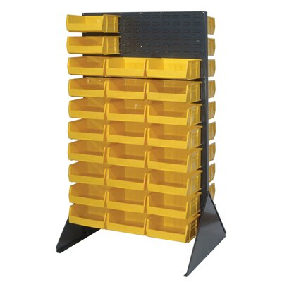 Quantum Storage Double Sided Louvered Rack