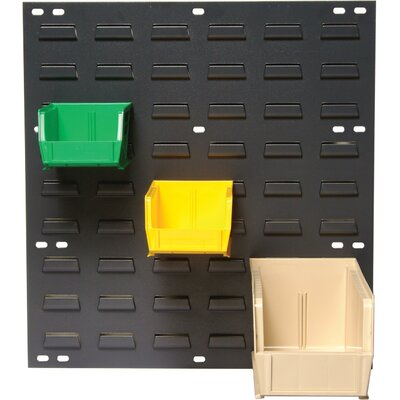 Quantum Storage Louvered Panels with Bins (Complete Package)