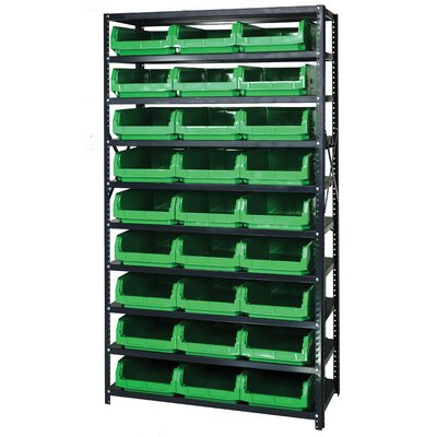 Quantum Storage 10 Shelf Giant Open Hopper Magnum Storage Unit (Complete Package)