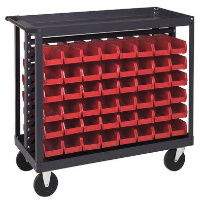 """Quantum Storage 36"""" Ergonomic Rail Cart"""
