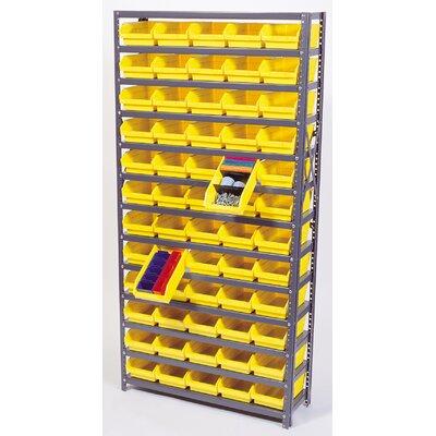 """Quantum Storage Economy Shelf Storage Units (75"""" H x 36"""" W x 18"""" D) with Bins"""