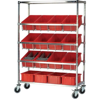 "Quantum Storage Q-Stor 54"" H 3 Shelf Shelving Unit Starter"