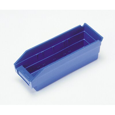 Quantum Storage Economy Shelf Bin (4&quot; H x 4 1/8&quot; W x 11 5/8&quot; D)