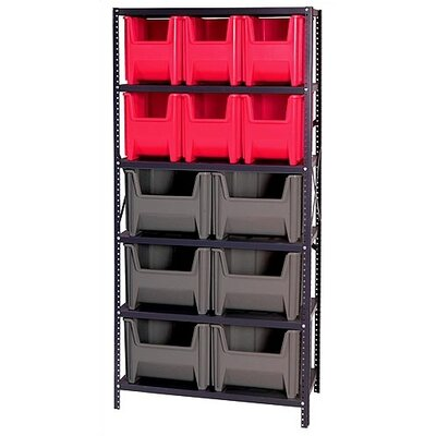 Quantum Storage Giant Stack Container Shelf Storage Systems with Various Bins