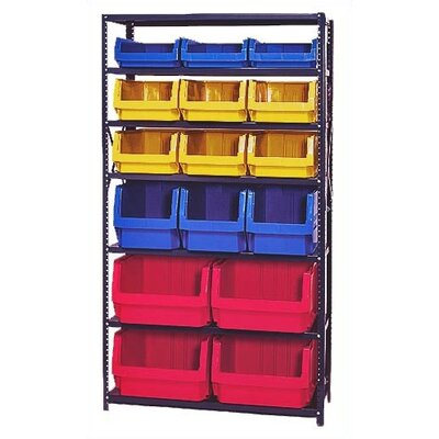 Quantum Storage 6 Shelf Giant Open Hopper Magnum Storage Unit