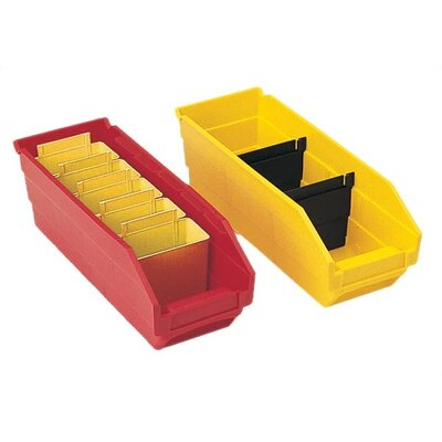 "Quantum Storage 4 1/8"" Economy Shelf Bin Dividers"