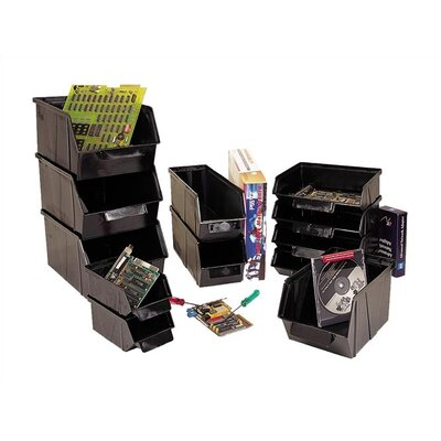 "Quantum Storage Conductive Stack and Lock Bin (2"" H x 3 7/8"" W x 4"" D)"