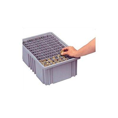 Quantum Storage Dividable Grid Storage Container Short Divider for DG91035 (Pack of 6)