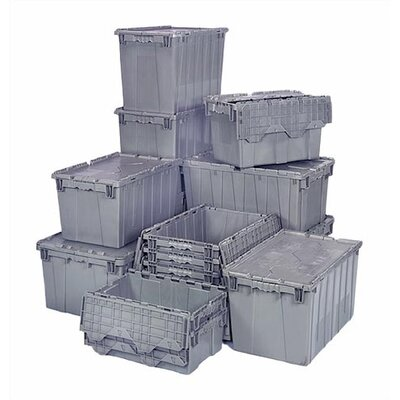 Quantum Storage 9.50 Gallon Heavy Duty Attached Top Storage Container