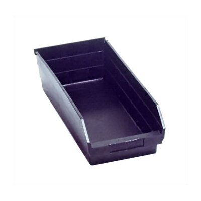 Quantum Storage Recycled Shelf Bin (4&quot; H x 6 5/8&quot; W x 17 7/8&quot; D)