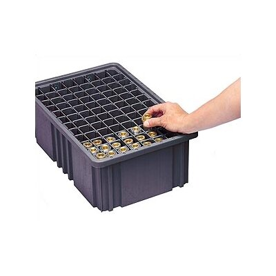 Quantum Storage Conductive Dividable Grid Storage Container Large Snap Covers (3 Piece Set)