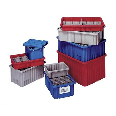 "Quantum Storage Dividable Grid Storage Containers (6"" H x 10 7/8"" W x 16 1/2"" D)"