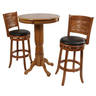 Boraam Industries Inc Sumatra Pub Table with Optional Stools