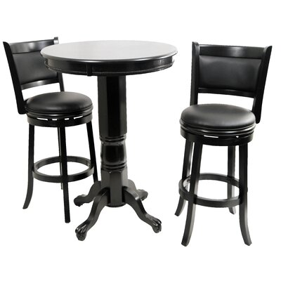 Boraam Industries Inc Augusta 3 Piece Pub Table Set