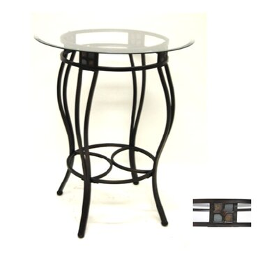"Boraam Industries Inc 36"" Beau Pub Table in Bronze"