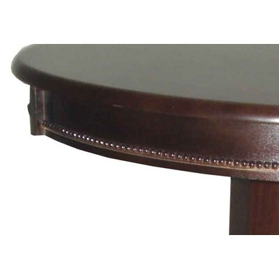 Boraam Industries Inc Florence Pedestal Pub Table in Cappuccino