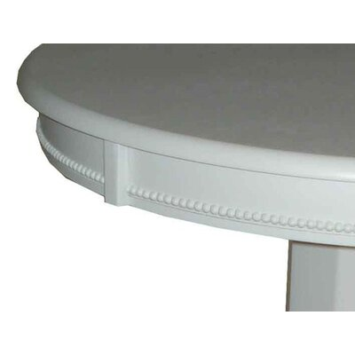 Boraam Industries Inc Florence Pedestal Pub Table in Solid White