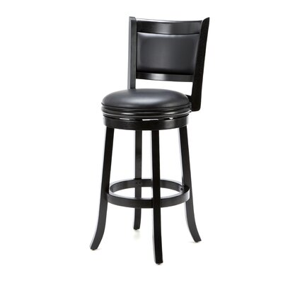 "Boraam Industries Inc Augusta 29"" Bar Stool in Black"