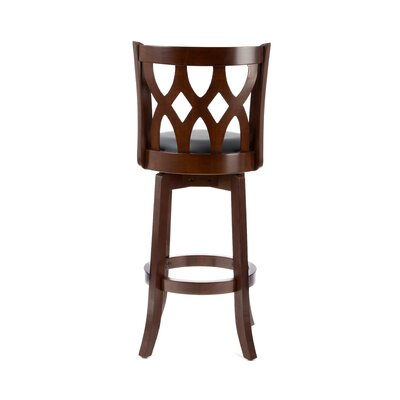 "Boraam Industries Inc Cathedral 29"" Bar Stool in 'LT' Cherry"