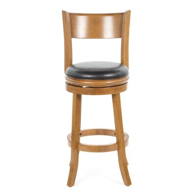 "Boraam Industries Inc Palmetto 29"" Bar Stool in Fruitwood"