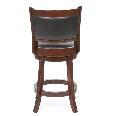"Boraam Industries Inc Augusta 24"" Counter Stool in LT Cherry"