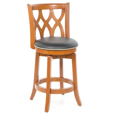 "Boraam Industries Inc Cathedral 24"" Counter Stool in ES Cherry"