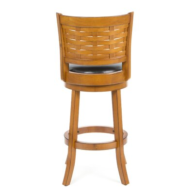 "Boraam Industries Inc Sumatra 29"" Bar Stool in Brush Oak"