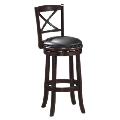 "Boraam Industries Inc Georgia 29"" Bar Stool in Cappuccino"