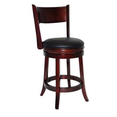 "Boraam Industries Inc Palmetto 24"" Bar Stool in English Tudor"