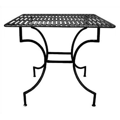 Pangaea Home and Garden Easy to Assemble Iron Square Dining Table