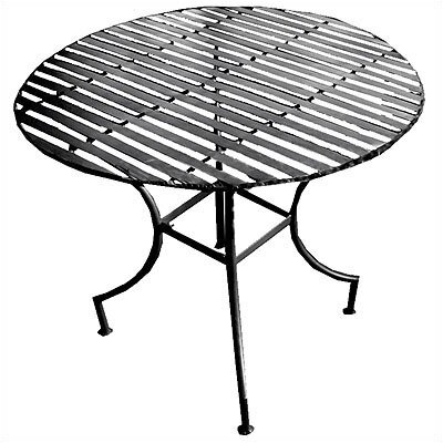 Pangaea Home and Garden Iron Round Dining Table