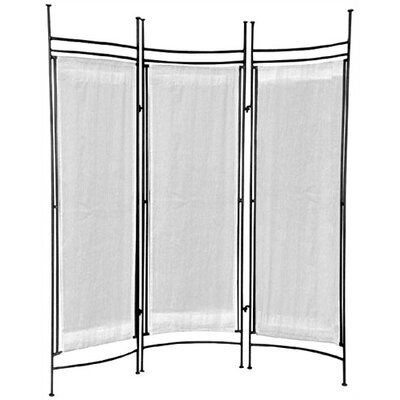"""Pangaea Home and Garden 68"""" x 58"""" Privacy Screen 3 Panel Room Divider"""