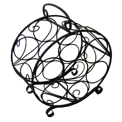 Pangaea Home and Garden Circular 7 Tabletop Bottle Wine Rack