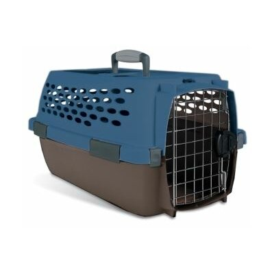 Petmate Kennel Cab Pet Carrier in Blue/Brown