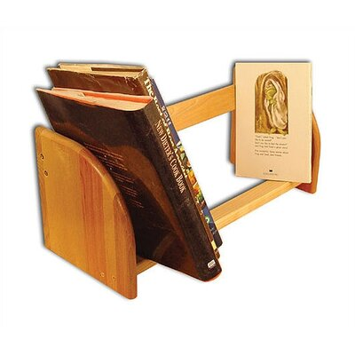 Catskill Craftsmen, Inc. Jiffy Natural Hardwood Book / CD / Video Rack