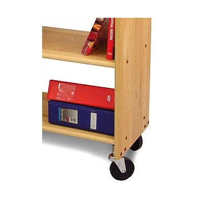 Catskill Craftsmen, Inc. Library Book Truck in Natural Maple
