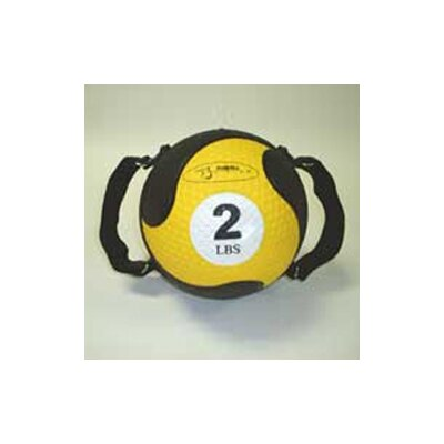 "FitBall Medballs 7.75"" in Yellow"