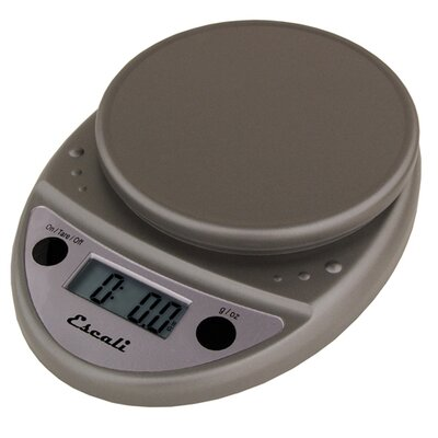 Escali Primo Digital Scale in Metallic
