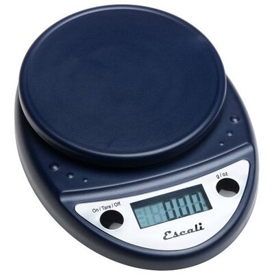 Escali Primo Digital Scale in Navy Blue