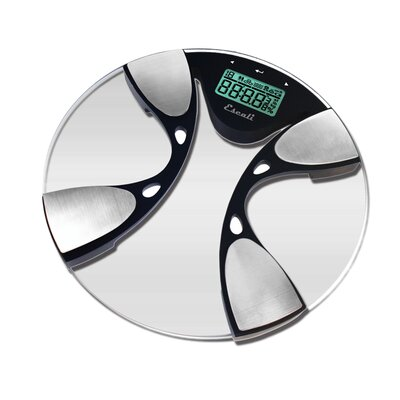 Escali Glass Body Fat / Body Water Bathroom Scale